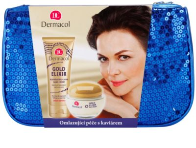Dermacol Gold Elixir kozmetični set III.
