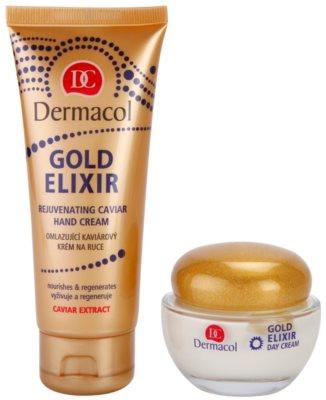 Dermacol Gold Elixir kozmetika szett III. 1