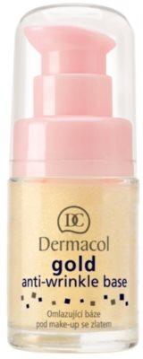 Dermacol Gold base de maquilhagem antirrugas
