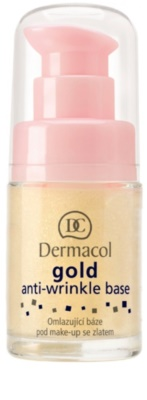 Dermacol Gold prebase de maquillaje antiarrugas