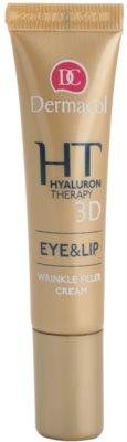 Dermacol HT 3D crema remodeladora para labios y contorno de ojos