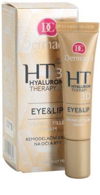 Dermacol HT 3D crema remodeladora para labios y contorno de ojos 1