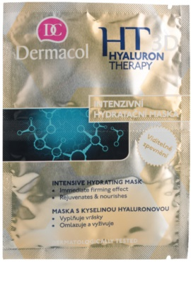 Dermacol HT 3D mascarilla hidratante intensiva  con ácido hialurónico