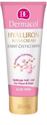 Dermacol Hyaluron delikatny krem oczyszczający do twarzy i okolic oczu