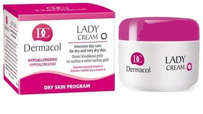 Dermacol Dry Skin Program Lady Cream creme de dia para pele seca a muito seca 1