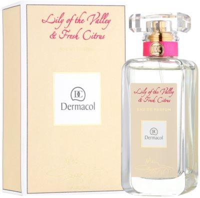 Dermacol Lily of the Valley & Fresh Citrus eau de parfum nőknek 1