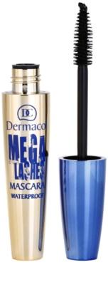 Dermacol Mega Lashes máscara de pestañas resistente al agua para dar volumen