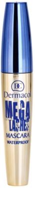 Dermacol Mega Lashes máscara de pestañas resistente al agua para dar volumen 1