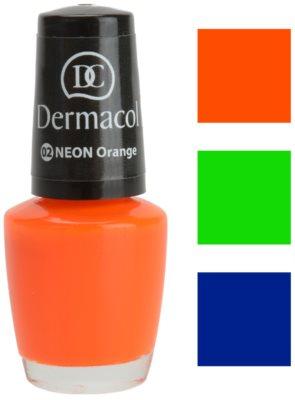 Dermacol Neon Glow esmalte de uñas tono neón