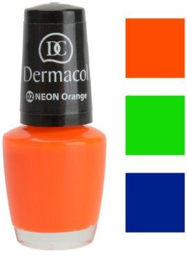 Dermacol Neon Glow neonfarbener Nagellack