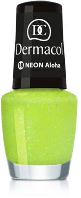 Dermacol Neon Neonlack für natürliche und künstliche Fingernägel