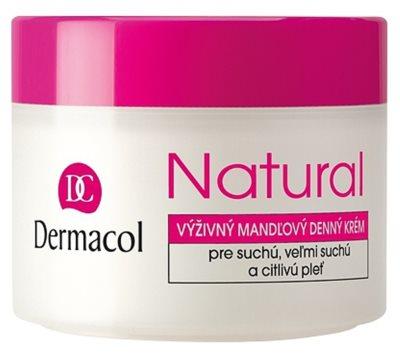 Dermacol Natural crema de día nutritiva  para pieles secas y muy secas