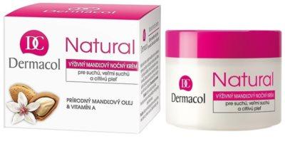 Dermacol Natural výživný noční krém pro suchou až velmi suchou pleť 1