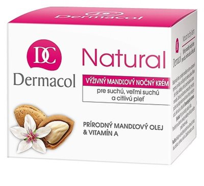 Dermacol Natural krem na noc do skóry suchej i bardzo suchej 2
