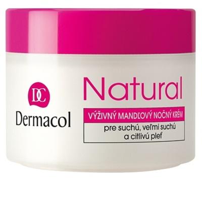 Dermacol Natural nährende Nachtcreme für trockene bis sehr trockene Haut