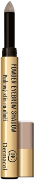 Dermacol Powder Eyebrow Shadow Lidschatten-Puder für die Augenbrauen 1