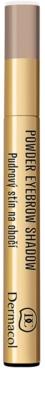 Dermacol Powder Eyebrow Shadow Lidschatten-Puder für die Augenbrauen 2