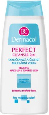 Dermacol Perfect micelláris tisztító víz a fiatal arcbőrre
