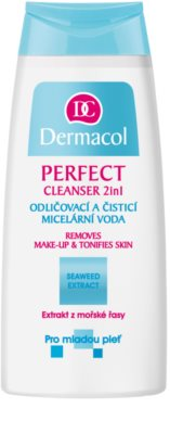 Dermacol Perfect мицеларна почистваща вода за млада кожа