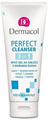 Dermacol Perfect Gel facial de curatare cu alge marine