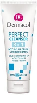 Dermacol Perfect Reinigungsgel für das Gesicht mit Meeralgen