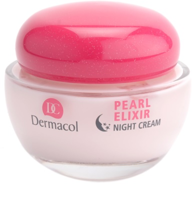 Dermacol Pearl Elixir wygładzająco-rozjaśniający krem na noc