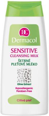 Dermacol Sensitive čisticí pleťové mléko pro citlivou pleť