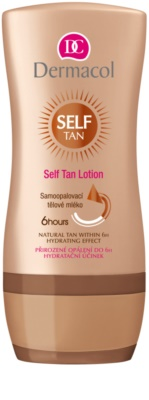 Dermacol Self Tan автобронзант мляко за тяло