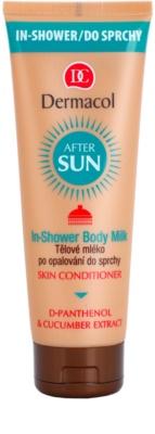 Dermacol After Sun osvežilno mleko za telo po sončenju za tuš