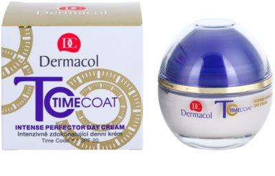 Dermacol Time Coat intensive Tagescreme für den perfekten Look SPF 20 1