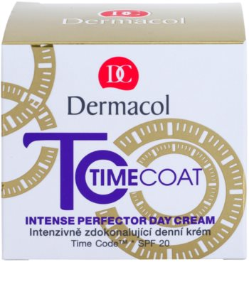Dermacol Time Coat intensive Tagescreme für den perfekten Look SPF 20 2