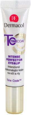 Dermacol Time Coat crema perfeccionadora intensiva para ojos y labios