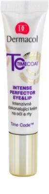 Dermacol Time Coat интензивно усъвършенстващ крем за зоната около очите и устните