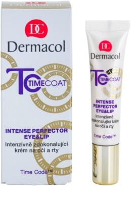 Dermacol Time Coat intenzivna izboljševalna krema za predel okoli oči in ustnic 1