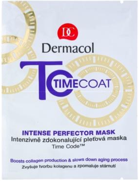 Dermacol Time Coat intensive Gesichtsmaske für den perfekten Look