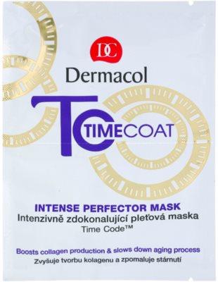 Dermacol Time Coat intenzivně zdokonalující pleťová maska