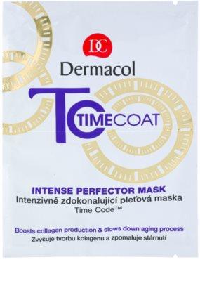 Dermacol Time Coat интензивно усъвършенстваща маска за лице