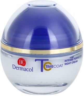 Dermacol Time Coat intenzivně zdokonalující noční krém