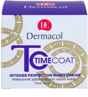 Dermacol Time Coat crema de noapte pentru protectie intensa 2