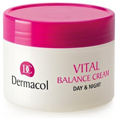 Dermacol Vital crema de día suavizante para pieles normales y mixtas