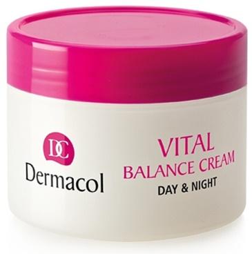 Dermacol Vital vlažilna dnevna krema za normalno do mešano kožo