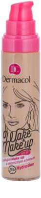 Dermacol Wake & Make-Up make-up pentru luminozitate cu efect imediat 1