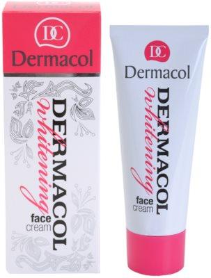 Dermacol Whitening aufhellende Hautcreme gegen Pigmentflecken 1