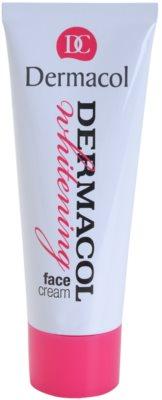 Dermacol Whitening creme facial aclarador anti-manchas de pigmentação
