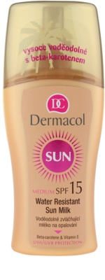 Dermacol Sun Water Resistant wasserfeste Sonnenmilch SPF 15