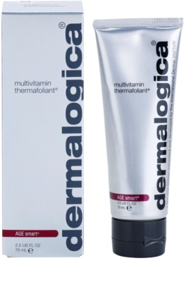 Dermalogica AGE smart multivitaminos melegítő peeling az arcra 1