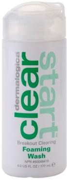 Dermalogica Clear Start Breakout Clearing mousse de limpeza contra imperfeições de pele acneica