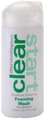 Dermalogica Clear Start Breakout Clearing почистваща пяна  против несъвършенствата на акнозна кожа