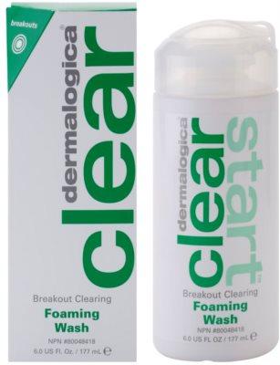 Dermalogica Clear Start Breakout Clearing почистваща пяна  против несъвършенствата на акнозна кожа 1