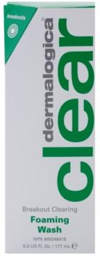 Dermalogica Clear Start Breakout Clearing почистваща пяна  против несъвършенствата на акнозна кожа 2
